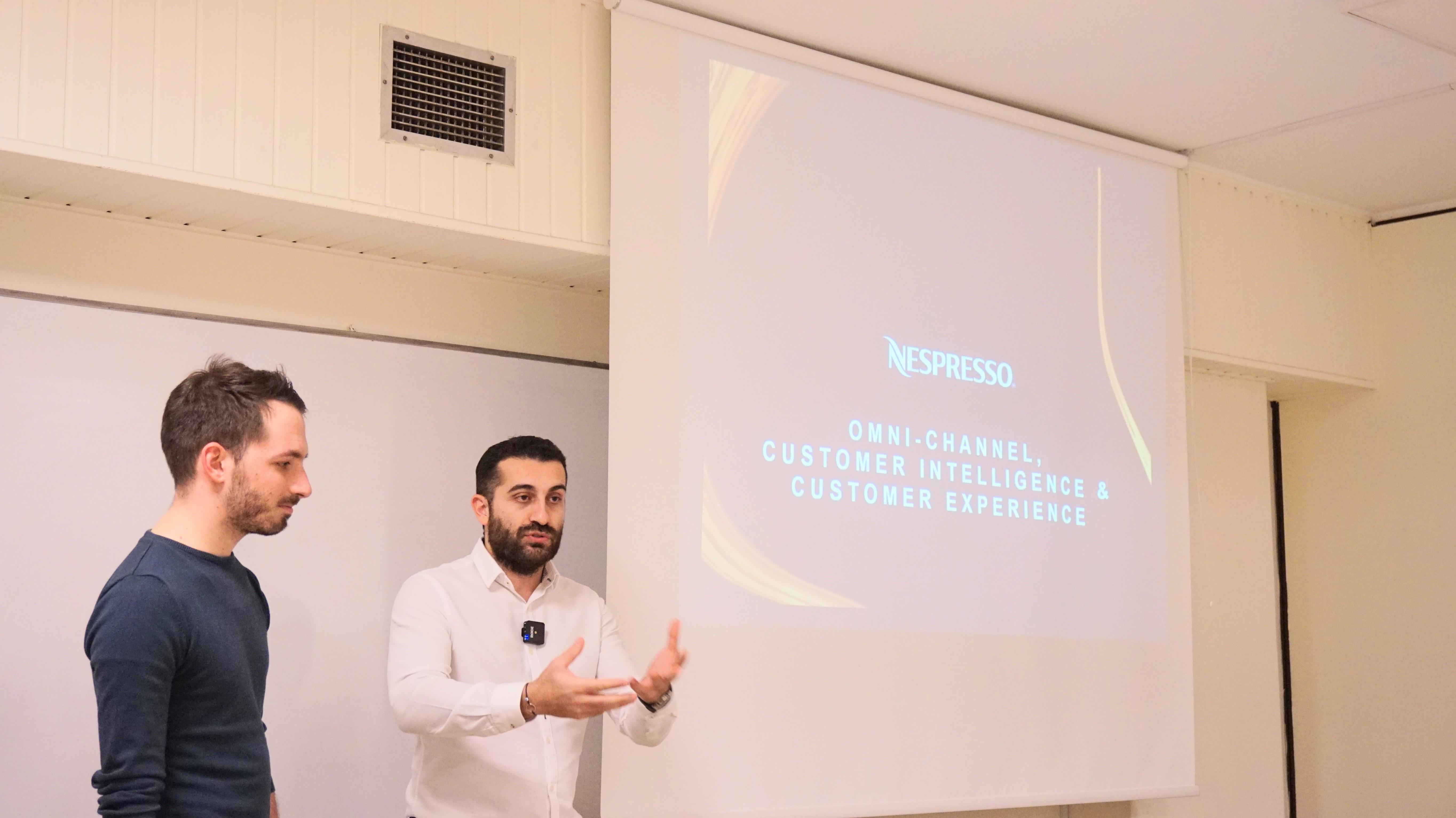 Nespresson Omnichannel strategy presentation